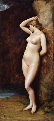 Carolus-duran Painting - Andromeda by Carolus-Duran