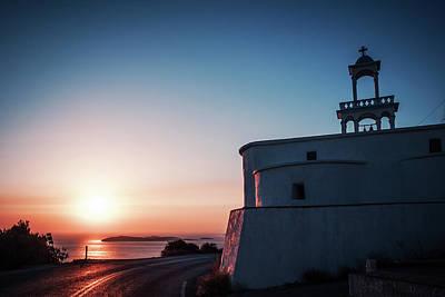 Greece Photograph - Andros Island Sunset - Greece by Alexander Voss