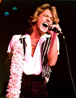 Andy.gibb Photograph - Andy Gibb by Lawrence Movera