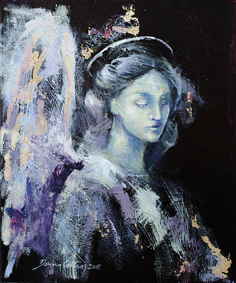 Angel 2 Print by Dorina Costras