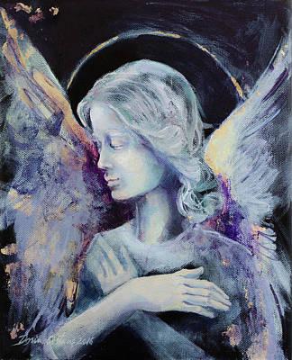 Angel 3 Print by Dorina Costras