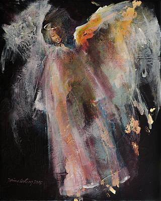 Angel 6 Print by Dorina Costras