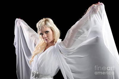 Daydreams Art Photograph - Angel Goddess by Cindy Singleton