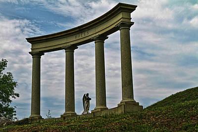 Angel In The Columns Original by Jason Blalock