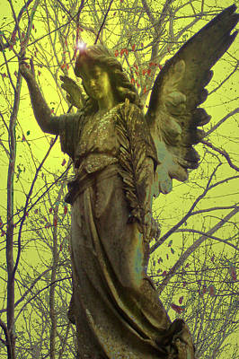 Angel Of Bless No. 01 Print by Ramon Labusch