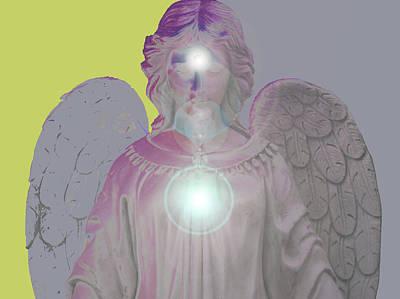 Angel Of Devotion No. 11 Print by Ramon Labusch
