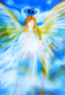 Angel Of Serenity Print by Alma Yamazaki