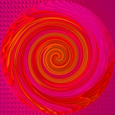 Angel-spiral Print by Ramon Labusch