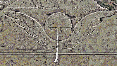 Birds In Graveyard Photograph - Angel With A Runny Nose 3 by Jean Hall