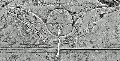 Birds In Graveyard Photograph - Angel With A Runny Nose by Jean Hall