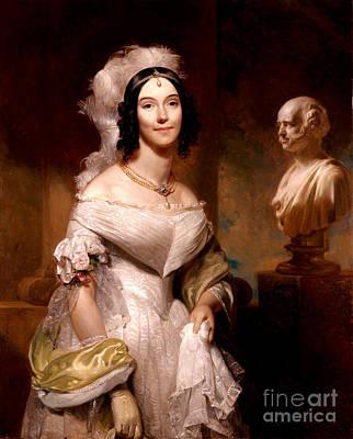 Angelica Van Buren, First Lady Print by Science Source
