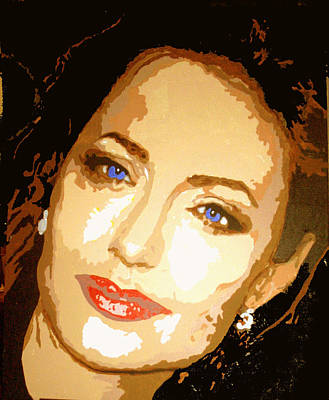 Angelina Print by Richard La Valle