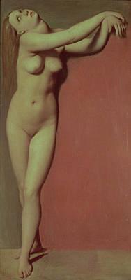 Angelique Print by Jean Auguste Dominique Ingres