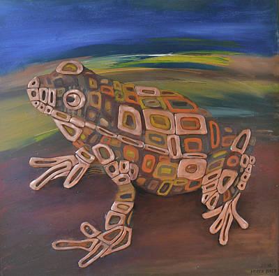 Angels Frog # 1 Original by Mirek Bialy