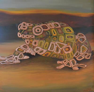 Angels Frog # 3 Original by Mirek Bialy
