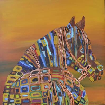 Angels Horse Original by Mirek Bialy