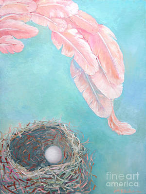 Representative Abstract Painting - Angel's Nest by Ana Maria Edulescu