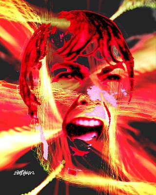 Anger Management Print by Seth Weaver