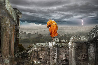 Angkor Digital Art - Angkor What? by Dray Van Beeck