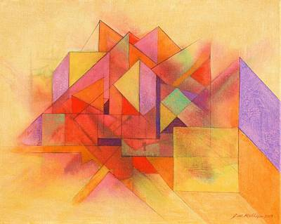 Painting - Angles 333 by J W Kelly