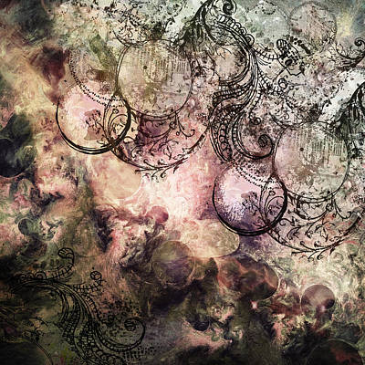Anima Abstract Print by Georgiana Romanovna