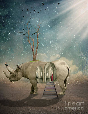 Surreal Photograph - Animal House by Juli Scalzi