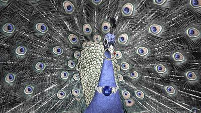 Jewellery Digital Art - Animal Royalty Series 2 by Sumit Mehndiratta