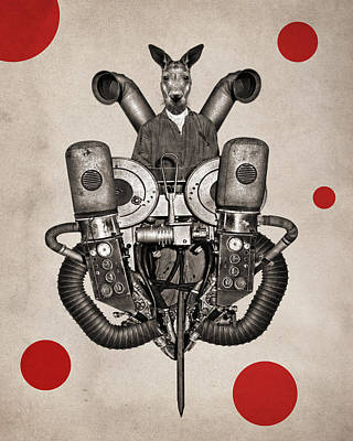 Worker Digital Art - Animal2 by Francois Brumas