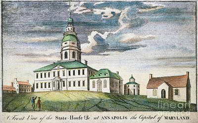 Annapolis, Maryland, 1786 Print by Granger