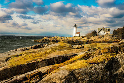 Glouster Photograph - Annisquam Harbor Light by Jim Bosch