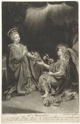 Annunciation Print by Celestial Images