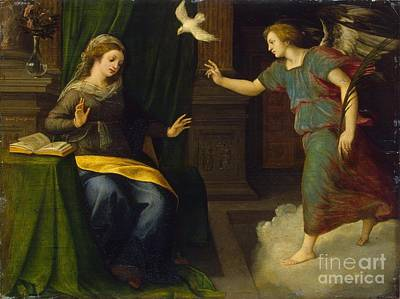 Annunciation Print by MotionAge Designs