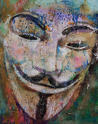 Spray Painting - Anonymous by Michael Creese