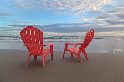 Topsail Photograph - Another Busy Beach Day by Betsy C Knapp