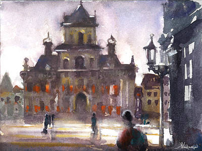 Holland Painting - Another Day by Kristina Vardazaryan