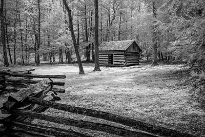 Barn In Tennessee Photograph - Another Isolated Cabin by Jon Glaser