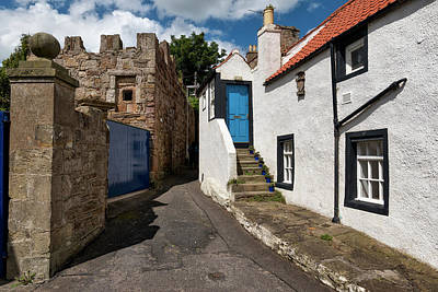 Anstruther Photograph - Anstruther Old Town In Fife by Jeremy Lavender Photography
