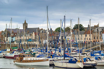 Anstruther Photograph - Anstruther by Thanet Photos
