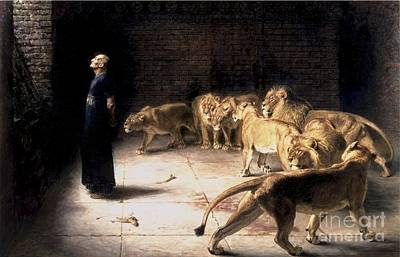 Answer To The King Print by Briton Riviere