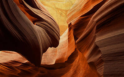Icon Mixed Media - Antelope Canyon by Design Turnpike