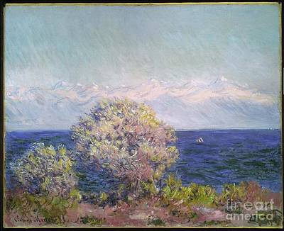 The Plateau Painting - Antibes Seen From The Plateau Notre-dame by MotionAge Designs