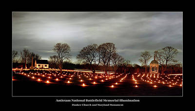 War Memorial Photograph - Antietam Panorama by Judi Quelland