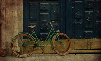 Antique Bicycle 1c Print by Andrew Fare