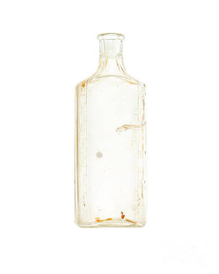 Drugstores Photograph - Antique Bottle by Jennifer Booher
