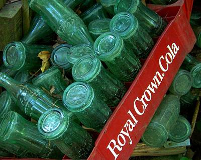Antique Photograph - Antique Bottles by Jai Johnson