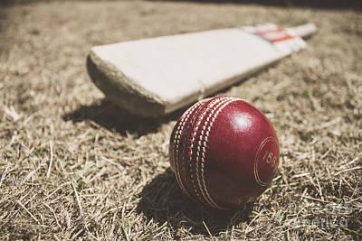 Antique Cricket Test Match Print by Jorgo Photography - Wall Art Gallery