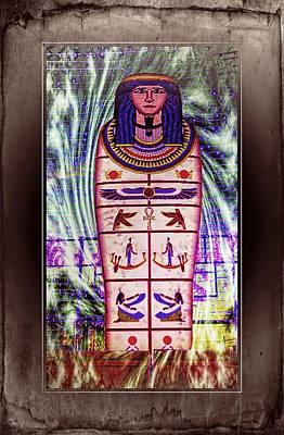 Antique Egyptian Magic Print by Ian Gledhill