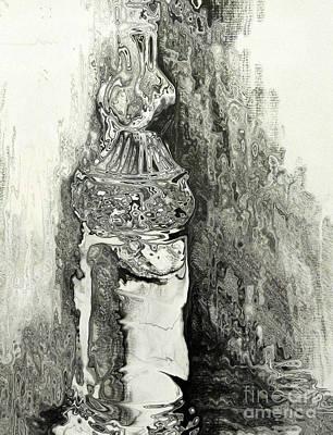 Antique Evoo Print by Lynellen Nielsen
