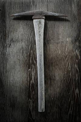 Mining Photograph - Tools On Wood 13 by Yo Pedro
