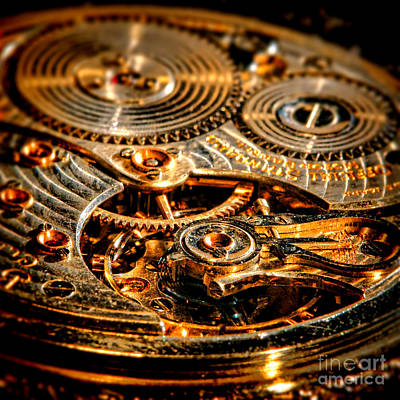 Antique Pocket Watch Caliber   Print by Olivier Le Queinec
